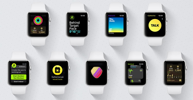 Apple watchOS 5 приносит Walkie-Talkie и другие новшества»