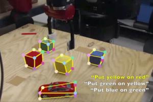 Система NVIDIA позволит роботам обучаться, наблюдая за человеком»