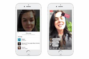 В Facebook появилась возможность записывать музыкальные ролики с лицензированными песнями»